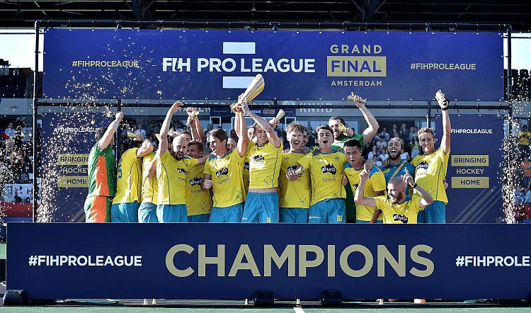 Hockey Australia And Netherlands Win Inaugural Fih Pro League In